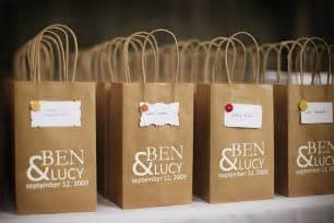 Wedding Favor Bags by A Diy Fall Wedding The Sweetest Occasion