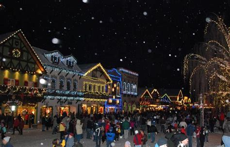 leavenworth wa christmas lighting festival favorite