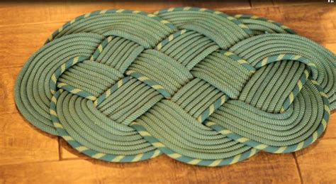 Rope Rug by Trailtime Tips How To Make A Climbing Rope Rug