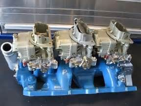 Pontiac Tri Power Carbs Rochester Tri Power Parts Accessories Ebay