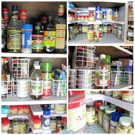 Spicy Shelf Spicy Shelf Stackable Organizer Cabinet Makeover