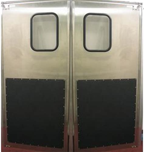 restaurant doors swing restaurant doors stainless steel traffic door stainless