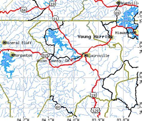 union city georgia map transportation in union county georgia