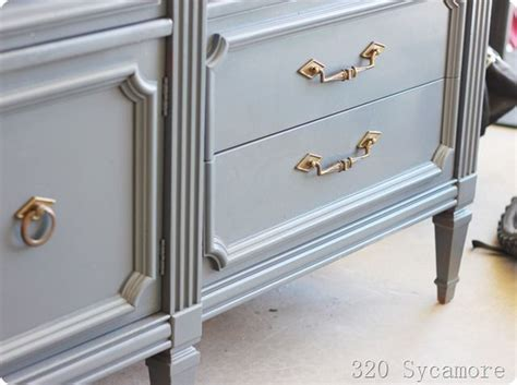 Spray Painting A Dresser by Spray Painted Dresser Makeover Paint Effects