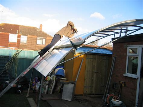 Home Made Awning by Quot Shelter Quot Awning