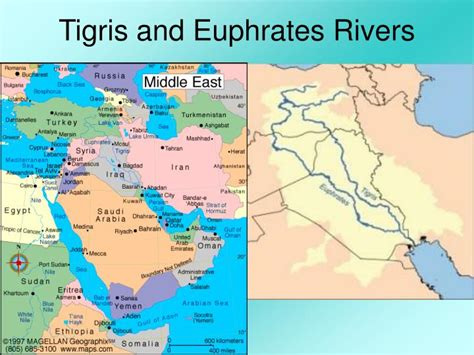 middle east map euphrates river ppt bellwork powerpoint presentation id 4556182