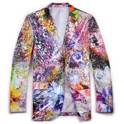 colorful blazers mens colorful creative blazer
