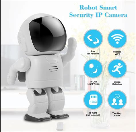 Promo Powerbank Robot Rt7200mah Smart Power 1 1080p fhd robot hd smart security ip wifi vision design features
