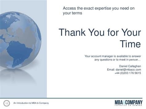 Companies That Pay For Time Mba by Mba Company Expertise On Demand