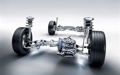 Rear Struts On Car Car Suspensions For Confident And Comfortable Drive