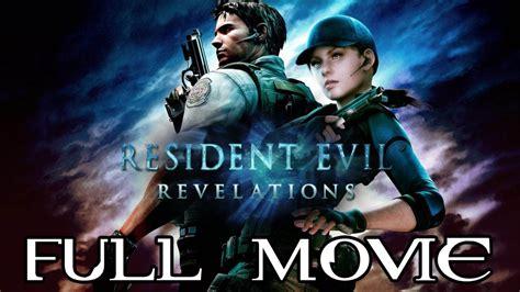 film animasi resident evil resident evil revelations all cutscenes true hd quality