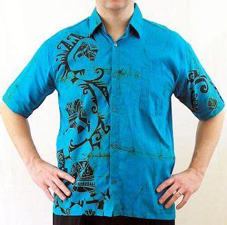 Kemeja Batik Pria Slimfit Modern Black Tribal electric blue and black s batik shirt medium s batik shirts electric blue