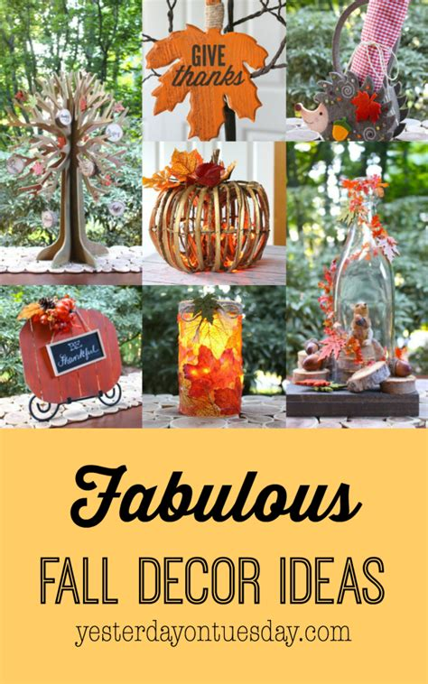 fabulous fall fall decorating 28 images best 25