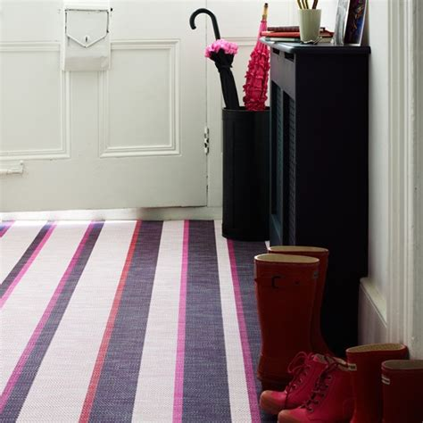 Floor Covering Ideas For Hallways Bright Stripes Hallway Flooring Ideas Housetohome Co Uk