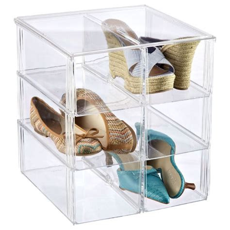acrylic stacking boxes acrylic boxes for shoes ideal