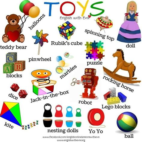 english course themes esl efl english vocabulary toys english with eva efl