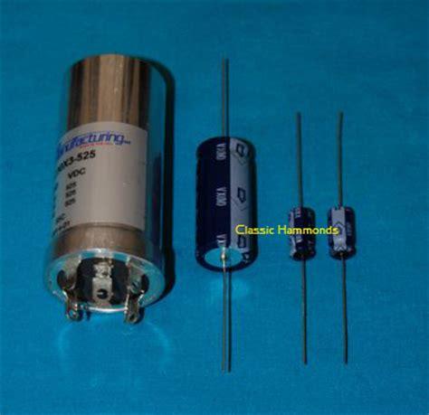 hammond organ capacitor replacement hammond generator capacitor kit 28 images hammond organ tonewheel generator capacitor