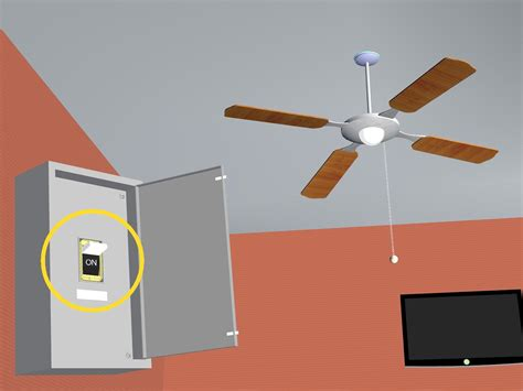 how to install a new ceiling fan how to install a ceiling fan in a new location with pictures