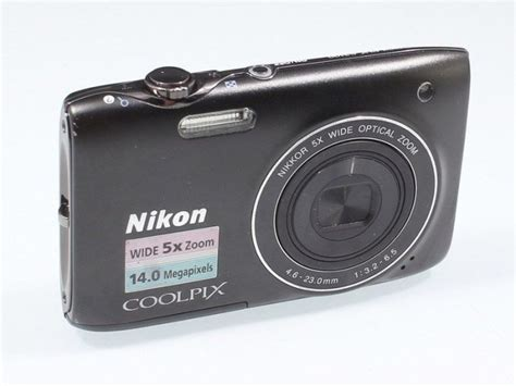 nikon coolpix 3100 digital nikon coolpix s3100 140 mp digital bundle black for