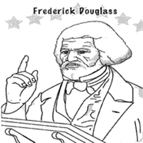 nick jr black history month coloring pages frederick douglass free coloring pages