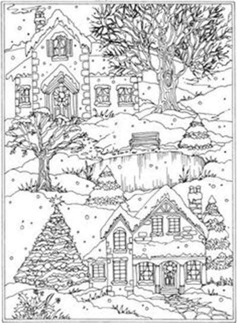 libro winter wonderland christmas coloring welcome to dover publications from creative haven winter wonderland coloring book christmas