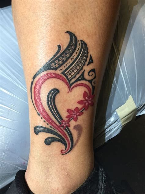 samoan tattoo for females polynesian ankle with polynesian