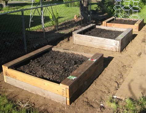 building garden beds how to build a container garden
