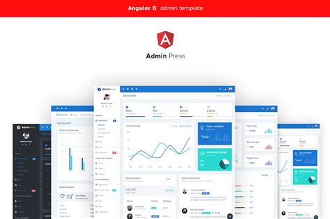 20 Free Bootstrap Admin Dashboard Templates For 2019 Angular Landing Page Template