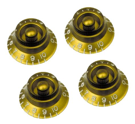Gibson Gold Knobs by Gibson Top Hat Knobs Gold Mcquade Musical