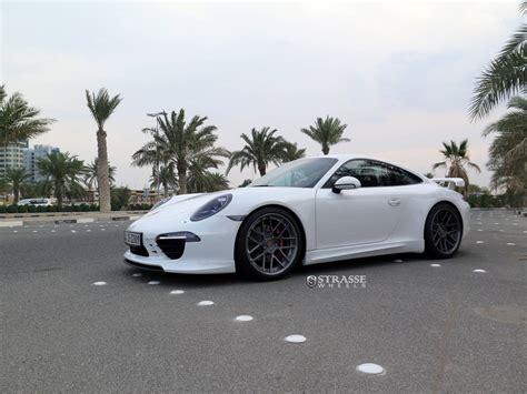 Porsche Stra E by Techart And Strasse Wheels 991 S