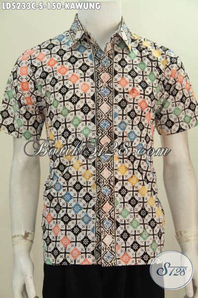 Batik Prodo Kombi Kawung busana batik modern motif kawung proses cap pakaian batik