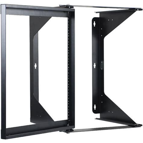 wall mount swing rack iccmssfr12 12u wall mount swing frame rack