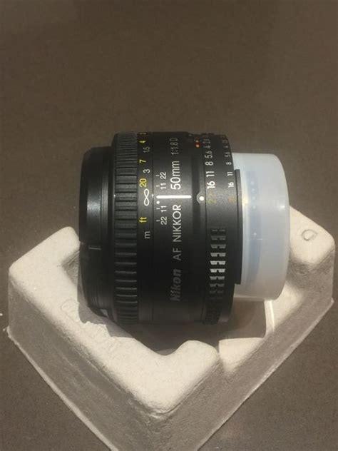 Nikon Lensa Af Nikkor 50mm F 1 8d nikon nikkor lens af nikkor 50mm f 1 8d catawiki