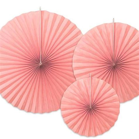 Paper Fan Infinite 1 supplies for pink tableware and decor uk pretty shop