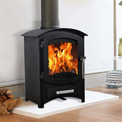 Fireplaces For Log Burning Stoves by Lincsfire Wellingore 6 22kw Modern Log Burner Multifuel
