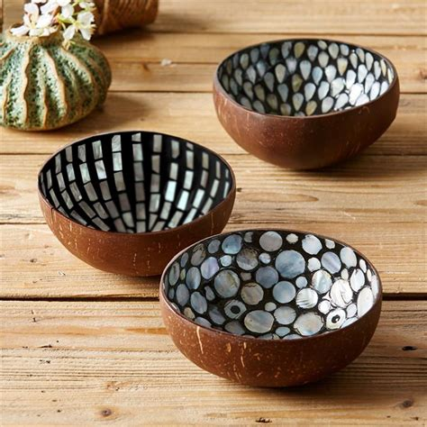 bowl designs assorted pearl coconut teardrop bowls design by tozai