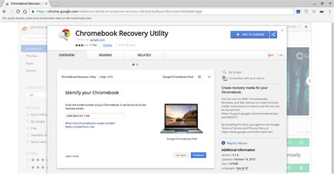 chrome recovery utility manual steps in chrome os neverware install guide