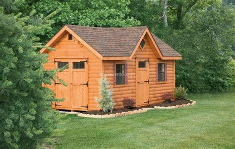 Garden Shed Log Cabin by Log Cabin Heritage Sheds Amish Mike Amish Sheds Amish