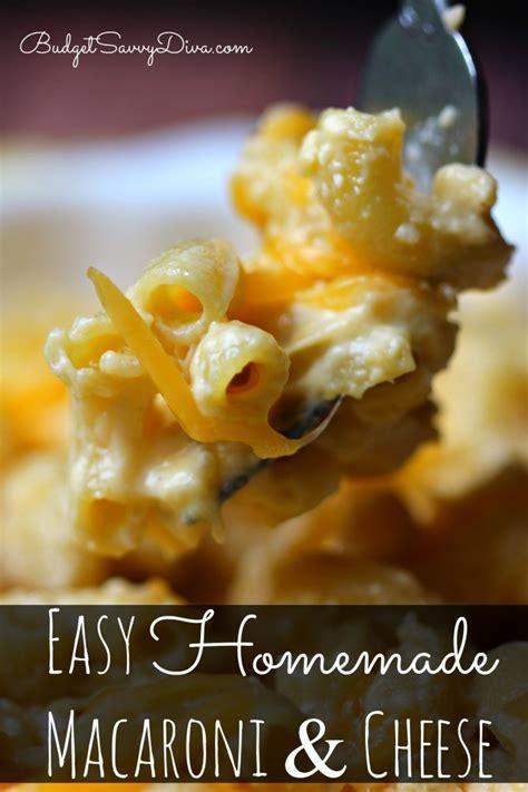 easy macaroni cheese easy mac and cheese recipe dishmaps