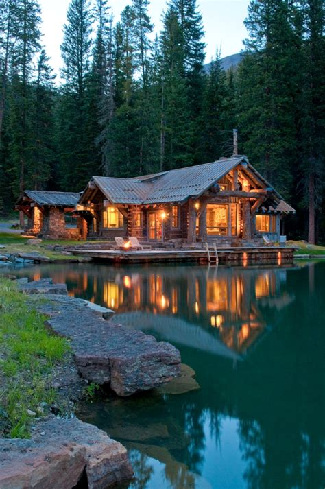 Cabin Builders Montana by A Rustic Cabin In Montana S Prestigious Yellowstone Club