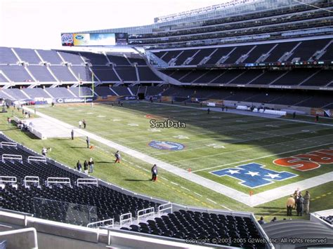 Soldier Field Media Deck by Soldier Field Section 228 Chicago Bears Rateyourseats