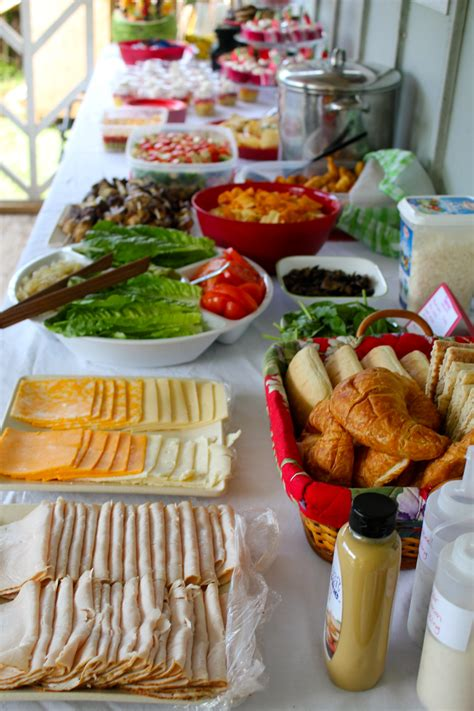 lunch ideas for bridal showers in menu ideas everyone will