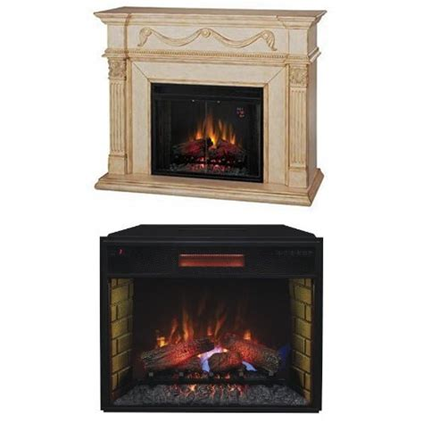 Fireplace Plugs by Complete Set Gossamer Mantel Electric Fireplace Antique