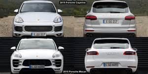 Porsche Macan And Cayenne Benim Otomobilim 2015 Porsche Macan Vs Porsche Cayenne
