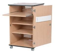 wheeled classic roving rack cabinet with sliding shelf and
