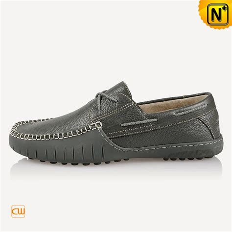 italian handmade leather driving shoes cw740108
