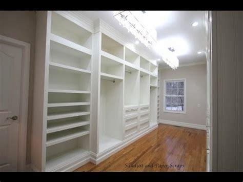 building  walk  closet system plans diy
