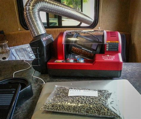 Gene Coffee Roaster by Gene Caf 233 Cbr 101 Home Coffee Roaster Review