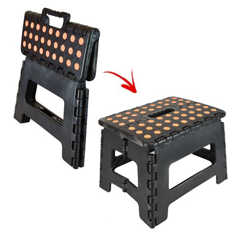 Small Plastic Step Stool by Small Multi Purpose Fold Step Stool Plastic Home Kitchen