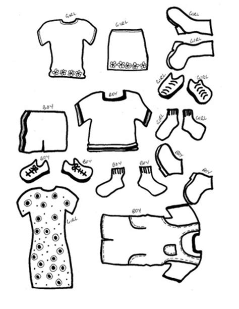 free printable paper doll clothes templates hot girls